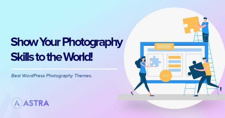 Best WordPress photography themes