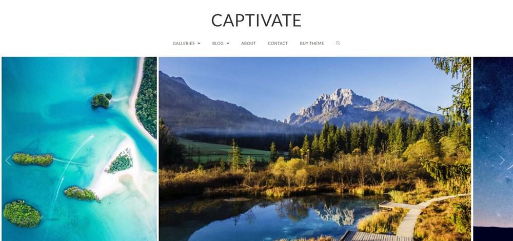 Captivate wordpress theme