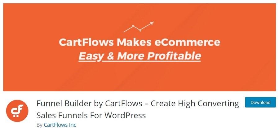 Cartflow funnel builder