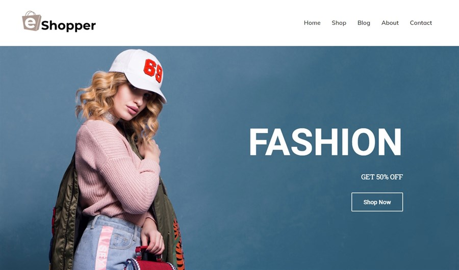 Ecommerce Fashion WordPress theme