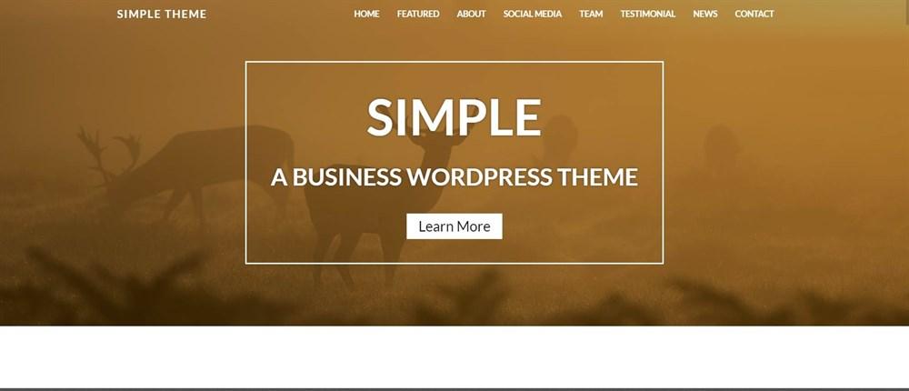 Nimbus Themes Simple Demo
