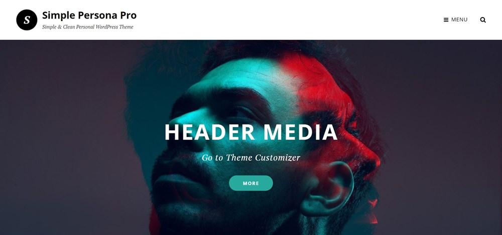 Simple Persona Pro demo site