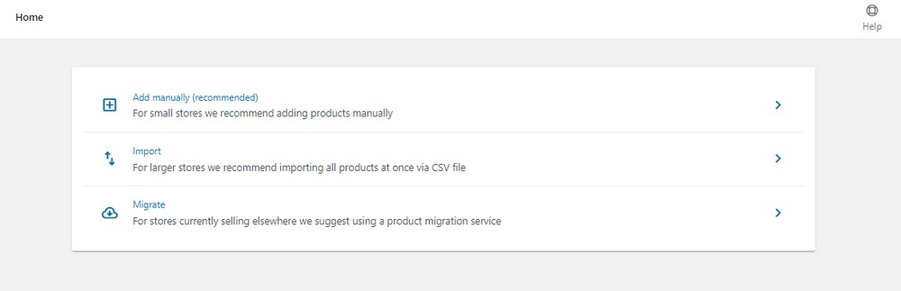 WooCommerce Add product option