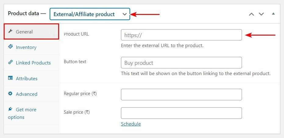 WooCommerce External Affiliate Product