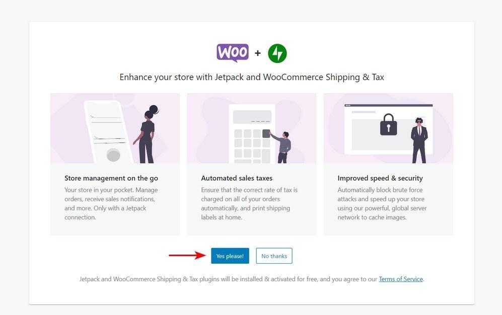 WooCommerce Setup Wizard 7