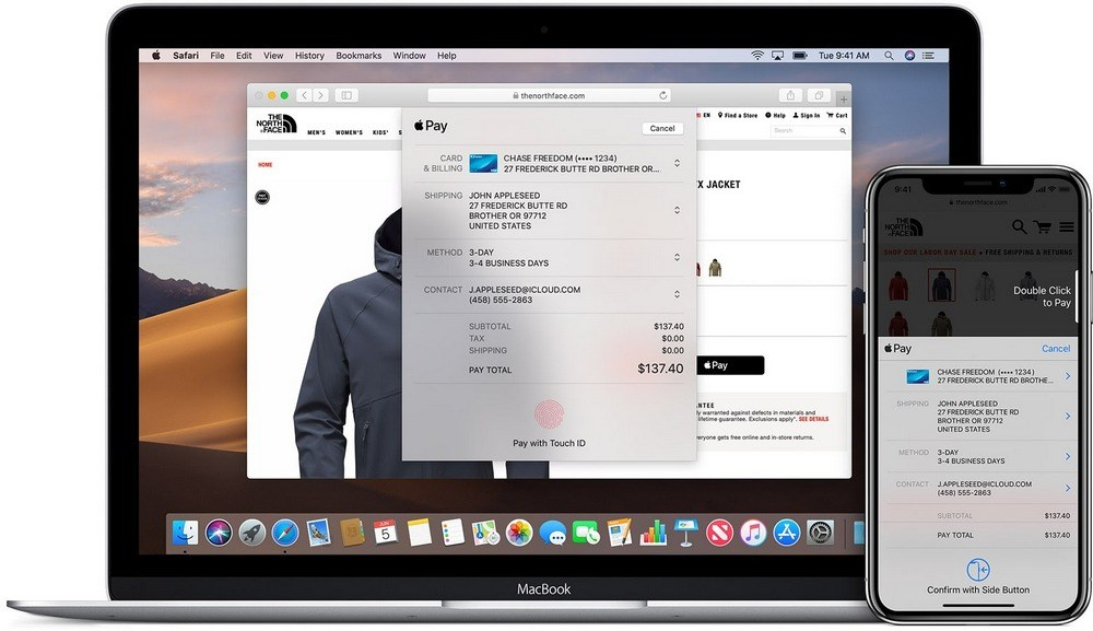 Apple pay detail