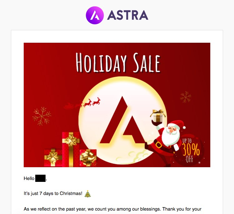 Astra promotion
