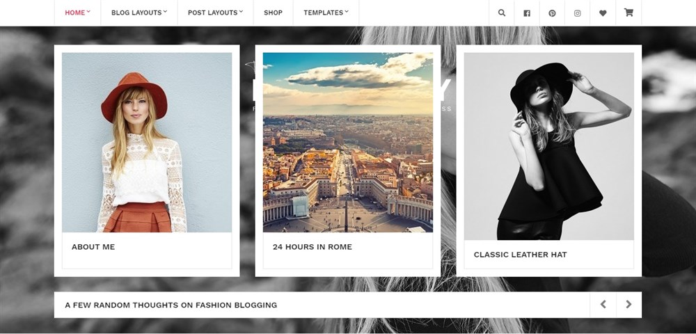 Brittany WordPress theme for authors