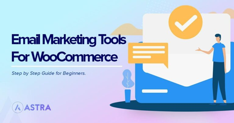Email marketing tools for WooCommerce
