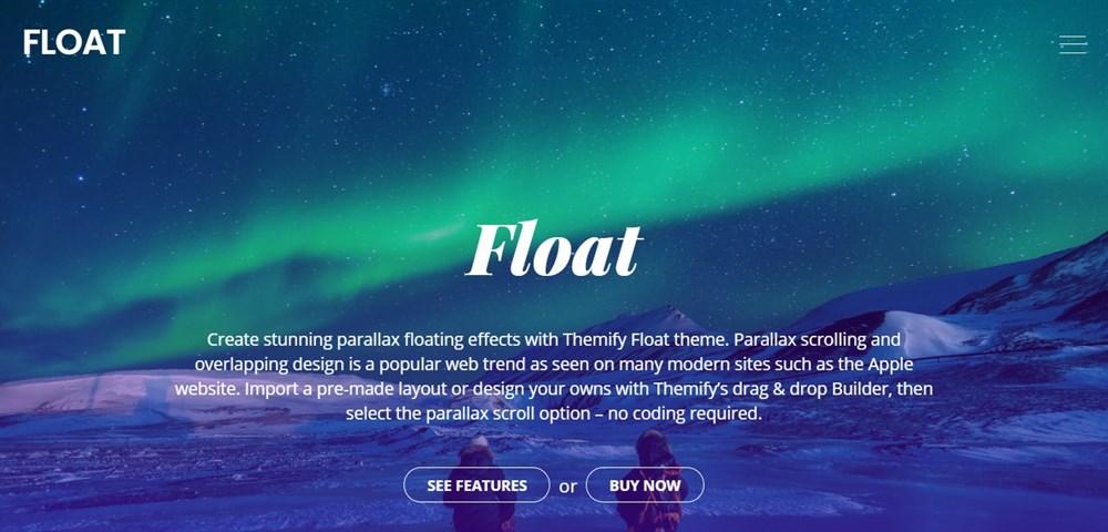 Float theme demo