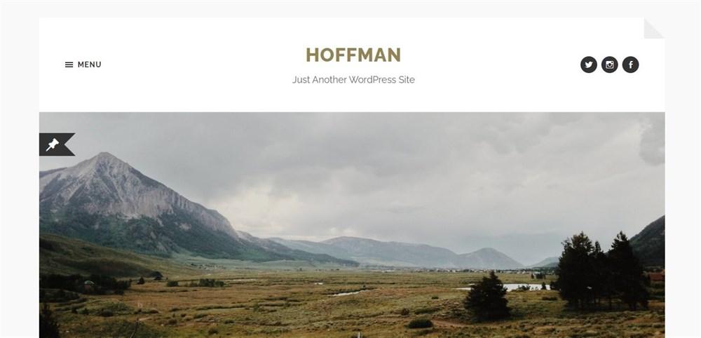 Hoffman demo site