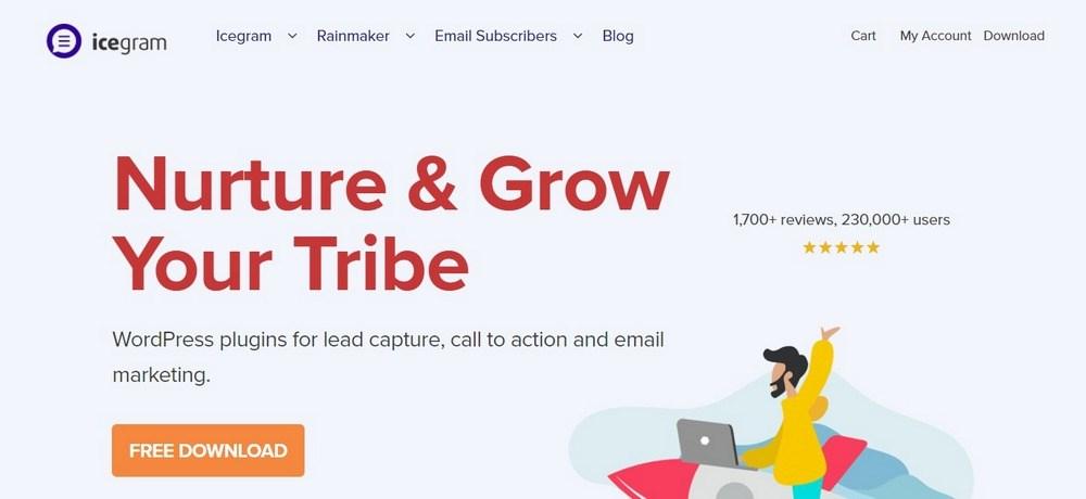 Icegram WordPress lead generation plugin