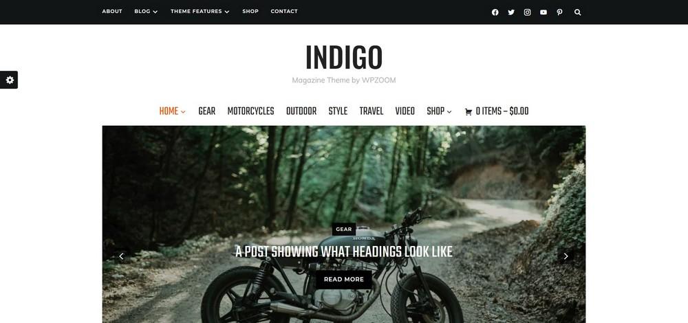 Indigo Magazine Theme by WPZOOM