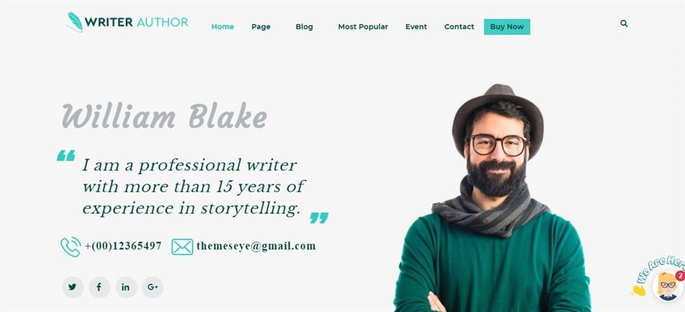 Katib writers Pro demo site