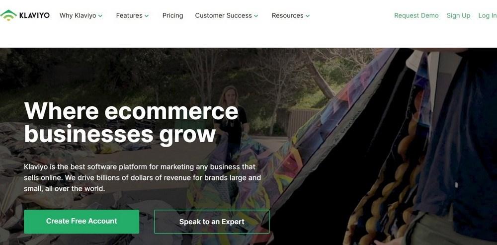 Klaviyo Email Marketing and SMS Marketing Platform For Ecommerce