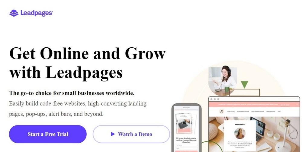 Leadpages Lead Gen Software