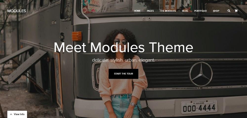 MODULES demo site
