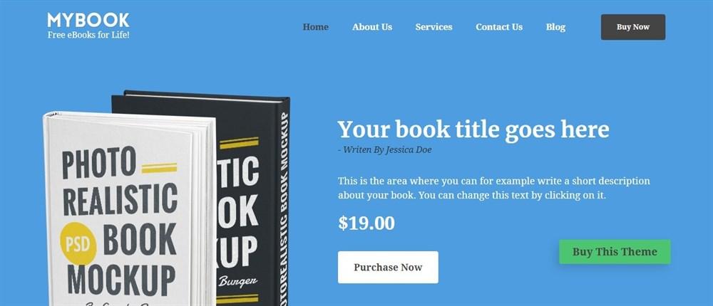 MyBook demo site