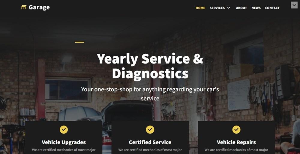Neve Car Service template