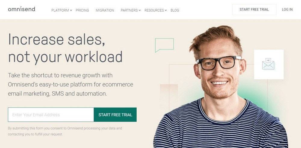 Omnisend Ecommerce Email Marketing and SMS Platform