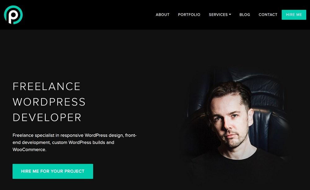 Phil owen portfolio website