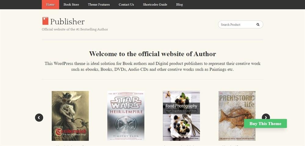Publisher demo site