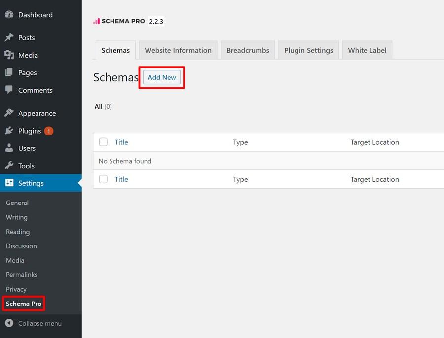 add faq schema using Schema Pro