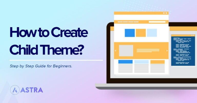 how to create child theme