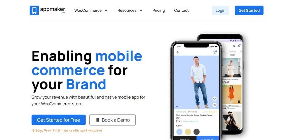 App Maker homepage