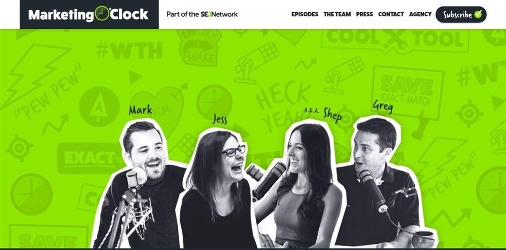 Digital Marketing News Podcast Marketing O'Clock