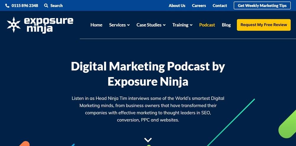 Digital Marketing Podcast by Exposure Ninja