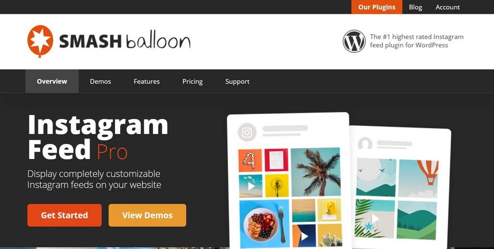 Instagram Feed WordPress Plugin smashballoon