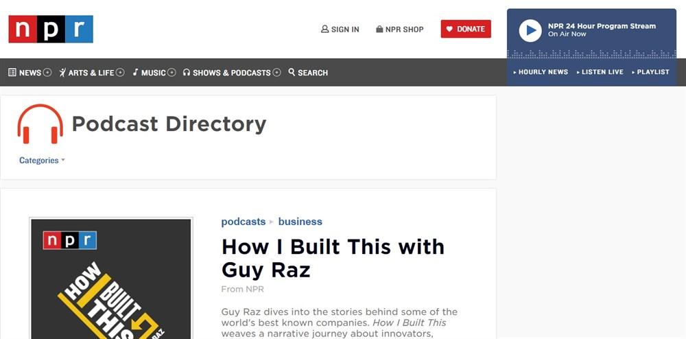 NPR podcast