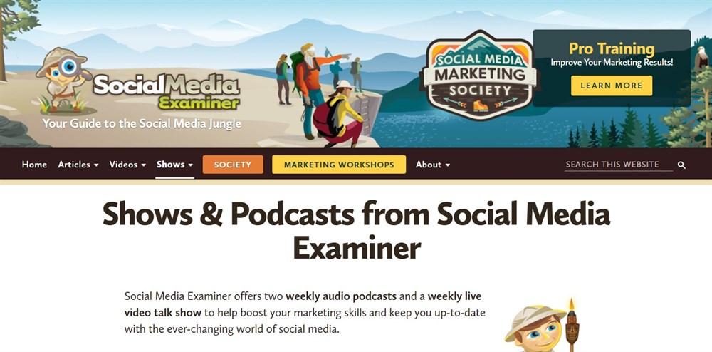 Podcasts from Social Media Examiner