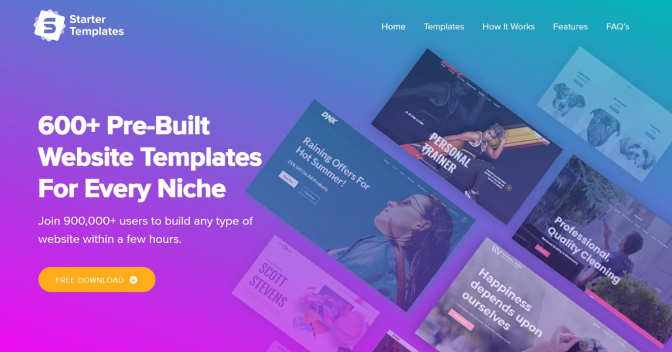 Starter Templates - Bundle