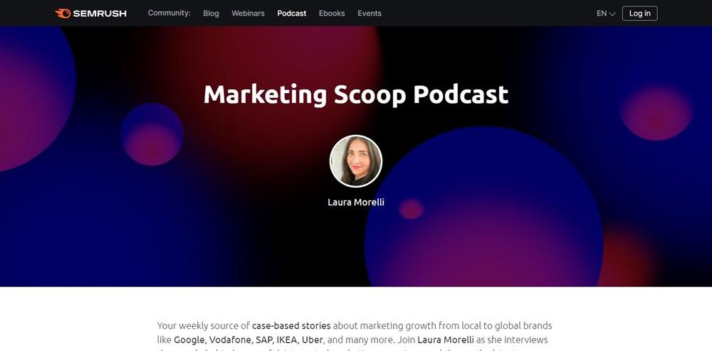 The Marketing Scoop semrush podcast