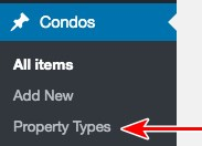 Toolset condos property types