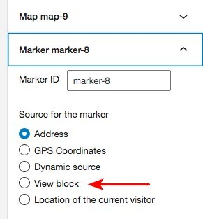 Toolset map Marker setting