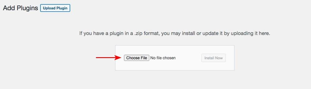 Upload plugin to WordPress