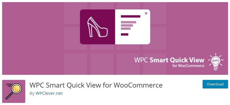 WPC Smart Quick View for WooCommerce plugin