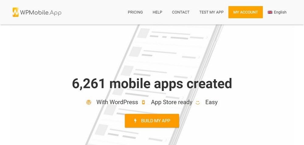 WPMobile.App homepage