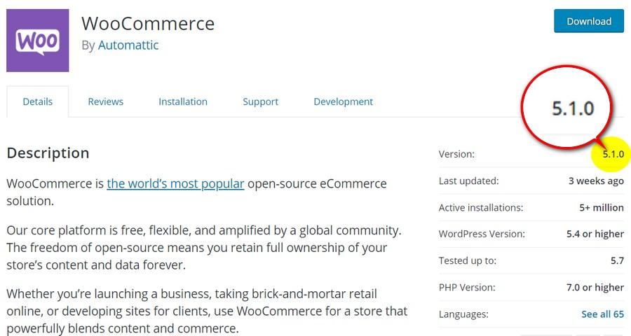 WooCommerce最新版本