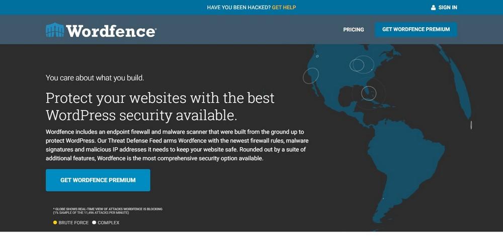 WordPress Security Plugin homepage