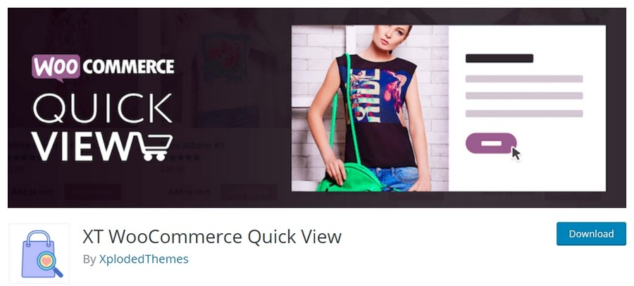 XT WooCommerce quick view plugin