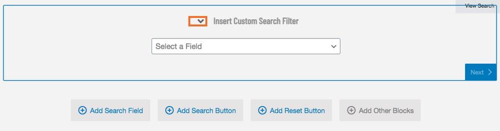 add search field
