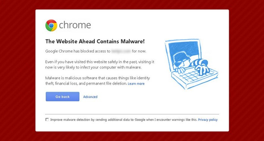 chrome virus notice