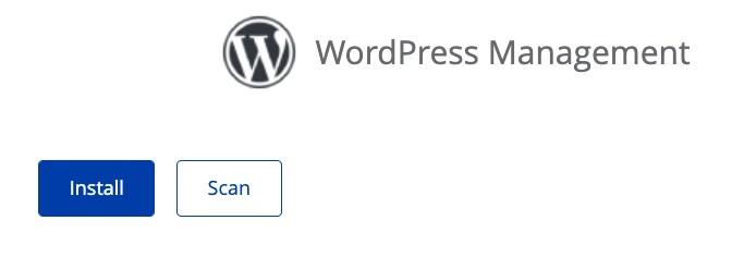 Click Install WordPress