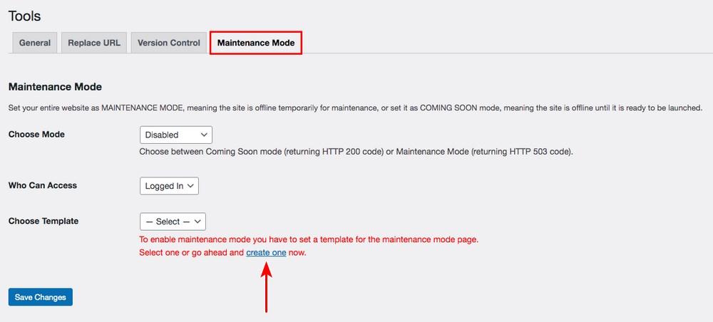 Elementor maintenance mode