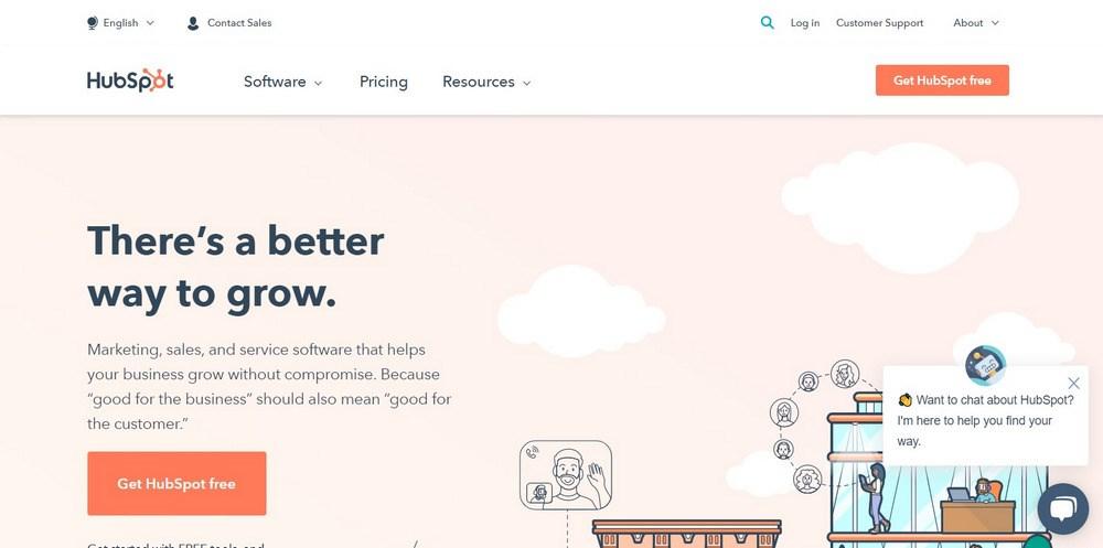 HubSpot Inbound Marketing, Sales, and Service Software