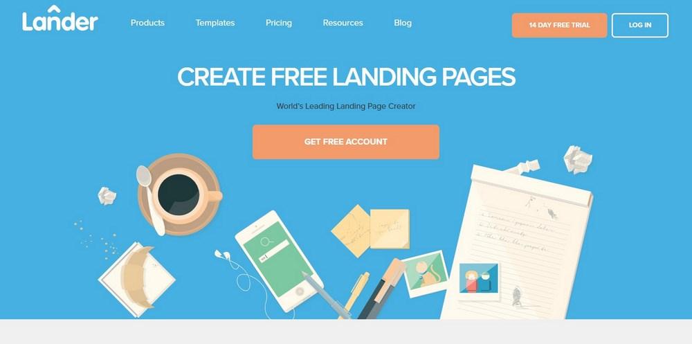 LanderApp Landing page software